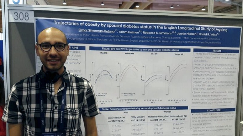 A brief report on Omar Silverman's experience with attending EASD in Lisbon